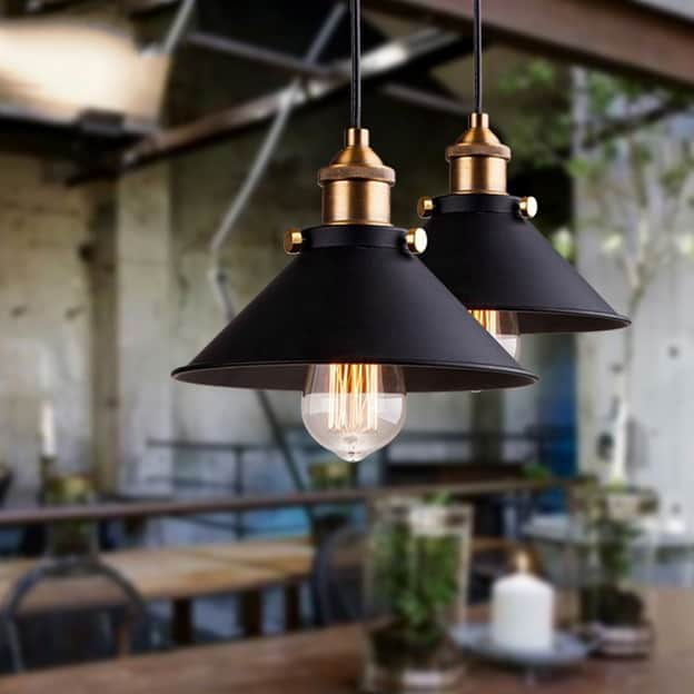 Industrial Pendant Lighting Nordic Style